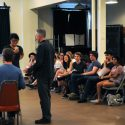 Senior Thespians Learn from the Pros