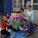 AVPA Artists' Water-Themed Painting is a Barrel of Fun