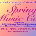 Spring Music Concert is May 25